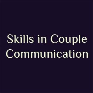 skills in couple communication